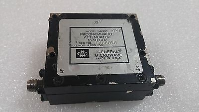 GENERAL MICROWAVE 3468C PROGRAMMABLE ATTENUATOR 2-18 GHz