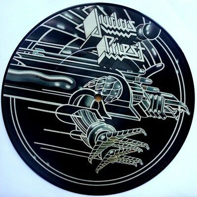 """Ex/ex Judas Priest You've Got Another Thing Coming  7"""" Vinyl 45 Picture Disc"""