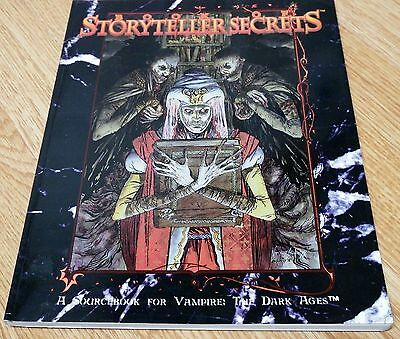Vampire: The Dark Ages – Book of Storytellers Secrets