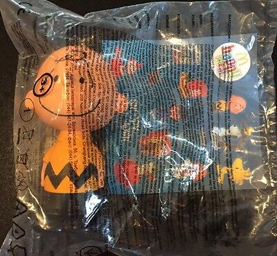 New Talking Charlie Brown Mcdonald's happy meal toy Snoopy Movie