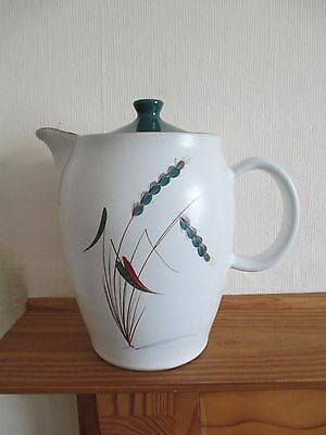 Vintage Denby Greenwheat Coffee Pot