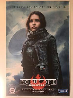 Rogue One A Star Wars Story Poster 120x160cm Jyn Erso