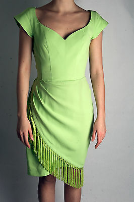 Thierry Mugler Robe Vintage Franges Taille 36-38