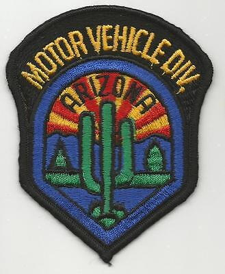 ARIZONA State Motor Vehicle Division AZ Police patch Public Safety