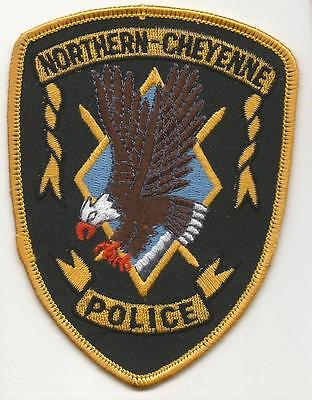 Northern Cheyenne MONTANA MT Police patch Indian Tribal OLD