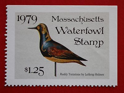 CLEARANCE: (MA06) 1979 Massachusetts State Duck Stamp