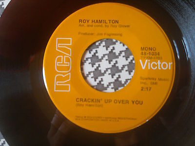 """ROY HAMILTON - Crackin' Up Over You - RCA VICTOR   45s""""  Northern Soul"""