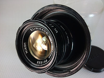 NIKON :  NIKKOR EL 50mm f/2.8 COMME NEUF / AS NEW BOXED
