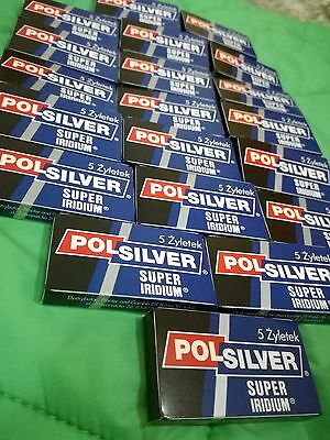 100 Polsilver Super Iridium De Blades Free Priority Shipping With Tracking