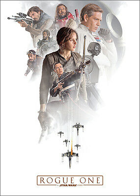 NEW - ROGUE ONE A STAR WARS STORY Promo Card #11 - Jyn Erso