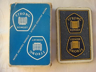 Vintage Playing Cards Strong Romsey - Thomas De La Rue