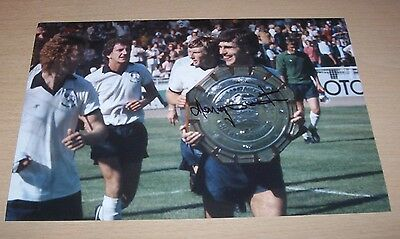 Henry Newton - Derby County Signed 12x8 Photo 1975 Charity Shield - PROOF