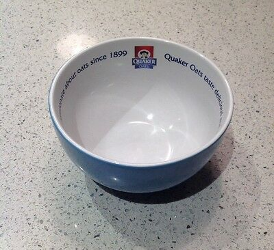 Quaker Oats So Simple Measuring Breakfast Cereal Porridge Bowl - Collectable