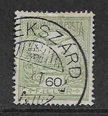 Hungary/magyar Posta Used Stamp, 1908 Definitive Used Crown Of St Stephen