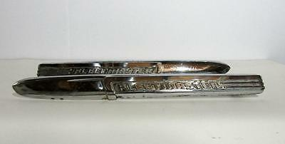 Chevrolet Fleetmaster  1947 1948 hood side emblems left right 9702019 9702020