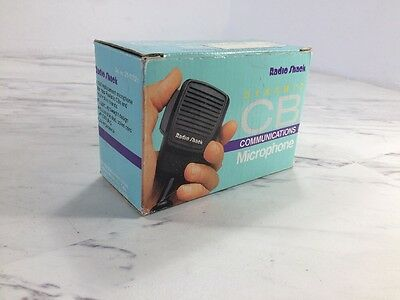 Vintage Realistic Radio Shack 21-1172 CB Dynamic 5 pin Hand Held Microphone (A5)
