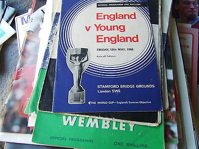 @ Chelsea Fc....england V Young England 1966