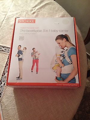 MARSUPIO STOKKE The 3 in 1 baby carrier Cool