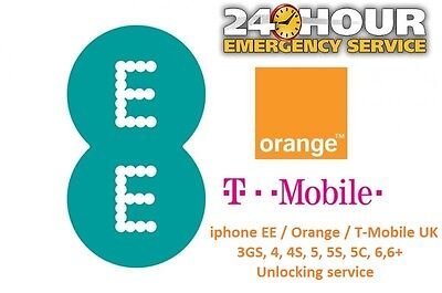 EE / T-Mobile UK iPhone 6, 6+ Plus  Unlocking Service ( Unlock Code )