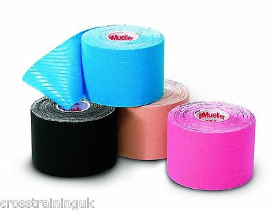 Mueller Sports Kinesiology Tape Muscles Pain Relief Support  Physio