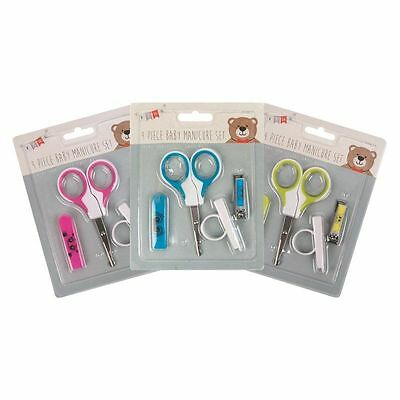 Baby New Born Hair Nail Manicure Essential Set Kit Scissors -UK SELLER