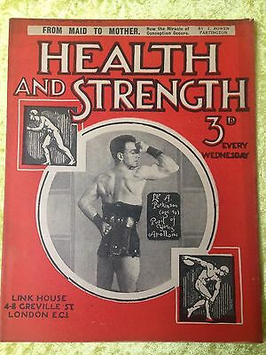 Health and Strength Magazine 1929/1930 Issues - Your Choice
