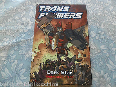 Transformers G1 Dark Star Hard Cover Graphic Novel