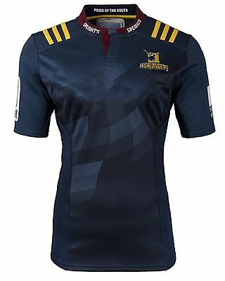 Camiseta rugby Highlanders Super T Shirt Rugby Maillot регби рубашка