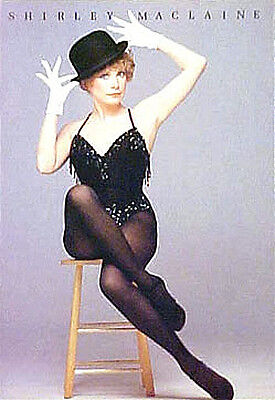 """SHIRLEY MacLAINE on BROADWAY"" --- 1984 'ONE WOMAN SHOW' song & dance -- program"