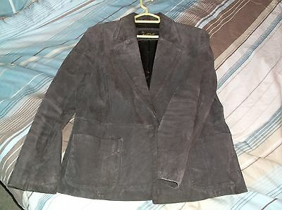 womens size 16 suede coat