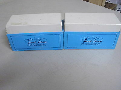 Trivial Pursuit Young Players Edition  Board Game Replacement Cards Only