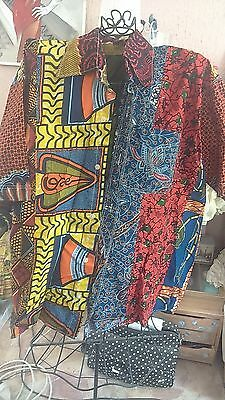 belle chemise   pagne africaine t u
