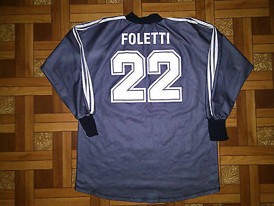 Grasshoppers Switzerland 1996/1997 Football Goalkeeper Shirt Trikot #22 Foletti
