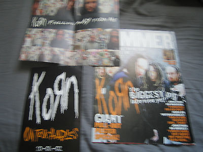 Korn Fold Out Poster Special, Falling Away From Me Poster, Untouchables Sticker