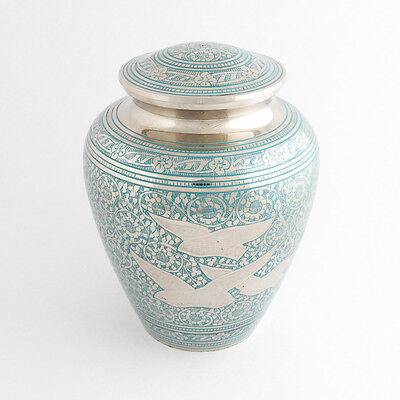 """Cremation Urn for Adults - Size Large 10.5"""" - Memorial urn for ashes"""