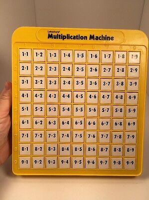 Lakeshore Multiplication Machine Educational Toy Homeschool Math Tool