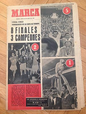 28 May 1964 Marca Especial Final European Cup Real Madrid Inter Milan Reims