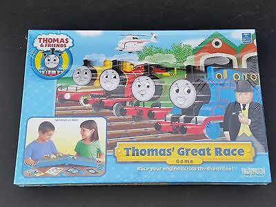 Thomas & Friends Thomas' Great Race board game 2007 Briarpatch BP08123 sealeD