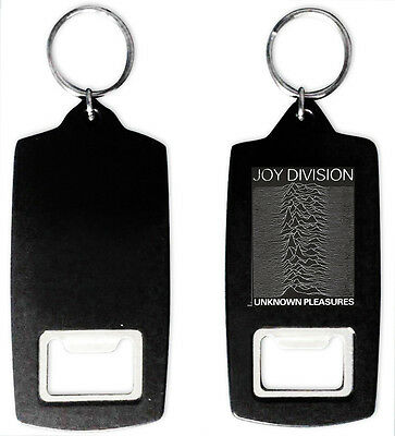 Joy Division Unknown Pleasures Bottle Opener Keyring New Order Ian Curtis