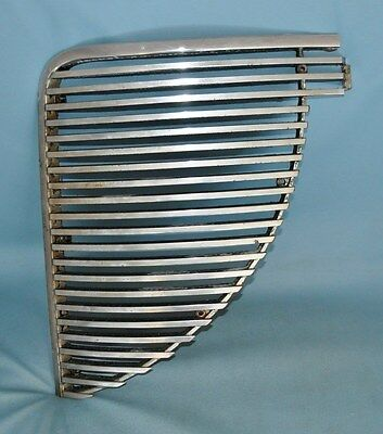 1938 Desoto Left Drivers Driver's Side Grille Section