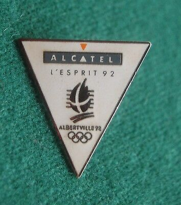 Albertville 92 Olympic Winter Games Pin Badge - L'esprit - Souvenir