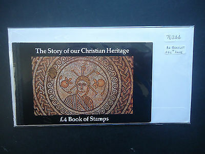 Great Britain 1984 £4 Christian Heritage Booklet (SG DX5) MNH + Booklet Pane FDC