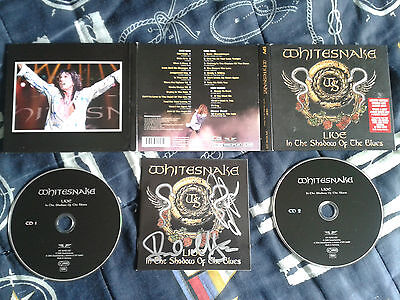 Whitesnake live in the Shadow of the Blues 2CD Limited edition SIGNED