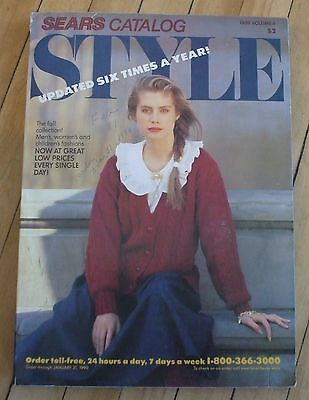 1989 Sears Style Catalog Volume 4 Good Condition 459 Pages