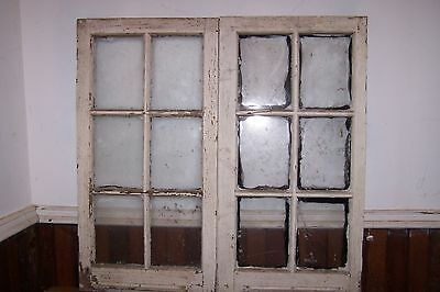 Antique Windows Cabinet Door Shabby Cottage Chic Architectural Salvage Wedding