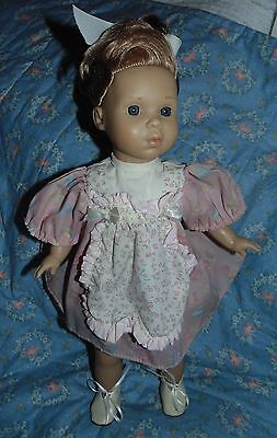 """Berenguer 14"""" Toddler Strawberry Blonde Hair Very Gently Used"""