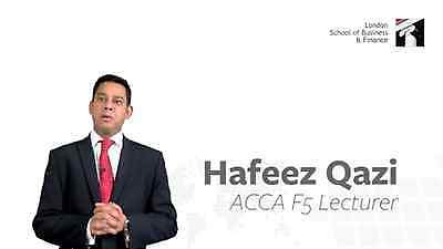 LSBF: ACCA F5 2016 Lectures By Hafeez Qazi with Revisions & All Study Materials