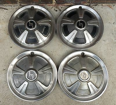"MAZDA Capella..series 1--1300. HUBCAPS WHEEL TRIMS HUB CAPS  SET OF 4.13"" RX2.."