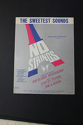 SHEET MUSIC: Richard Rodgers The Sweetest Sounds Williamson Music Ltd.