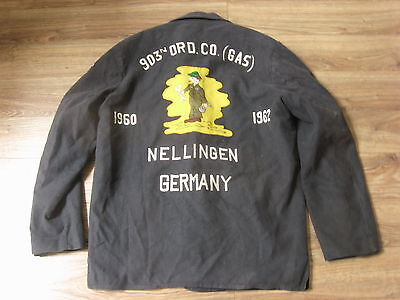 Vtg 1960 US Army 903 ORD Seven Steps to Hell Party/Tour/ Jacket Size Large